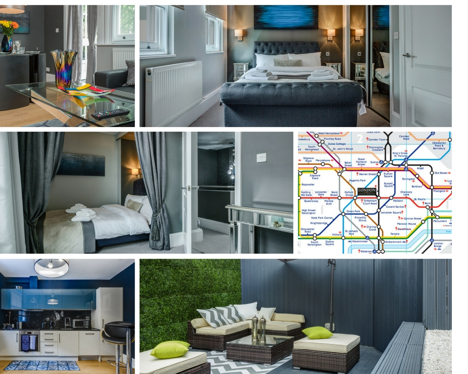 Soho appartment collage final - Win a luxury 2 night stay in Soho, London