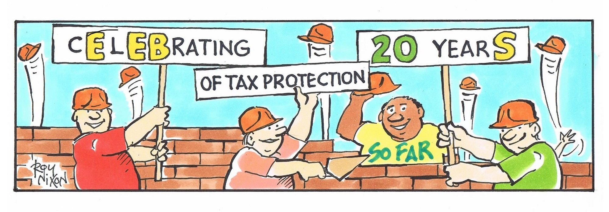 EEBS Celebrate 20 Years of Tax Protection