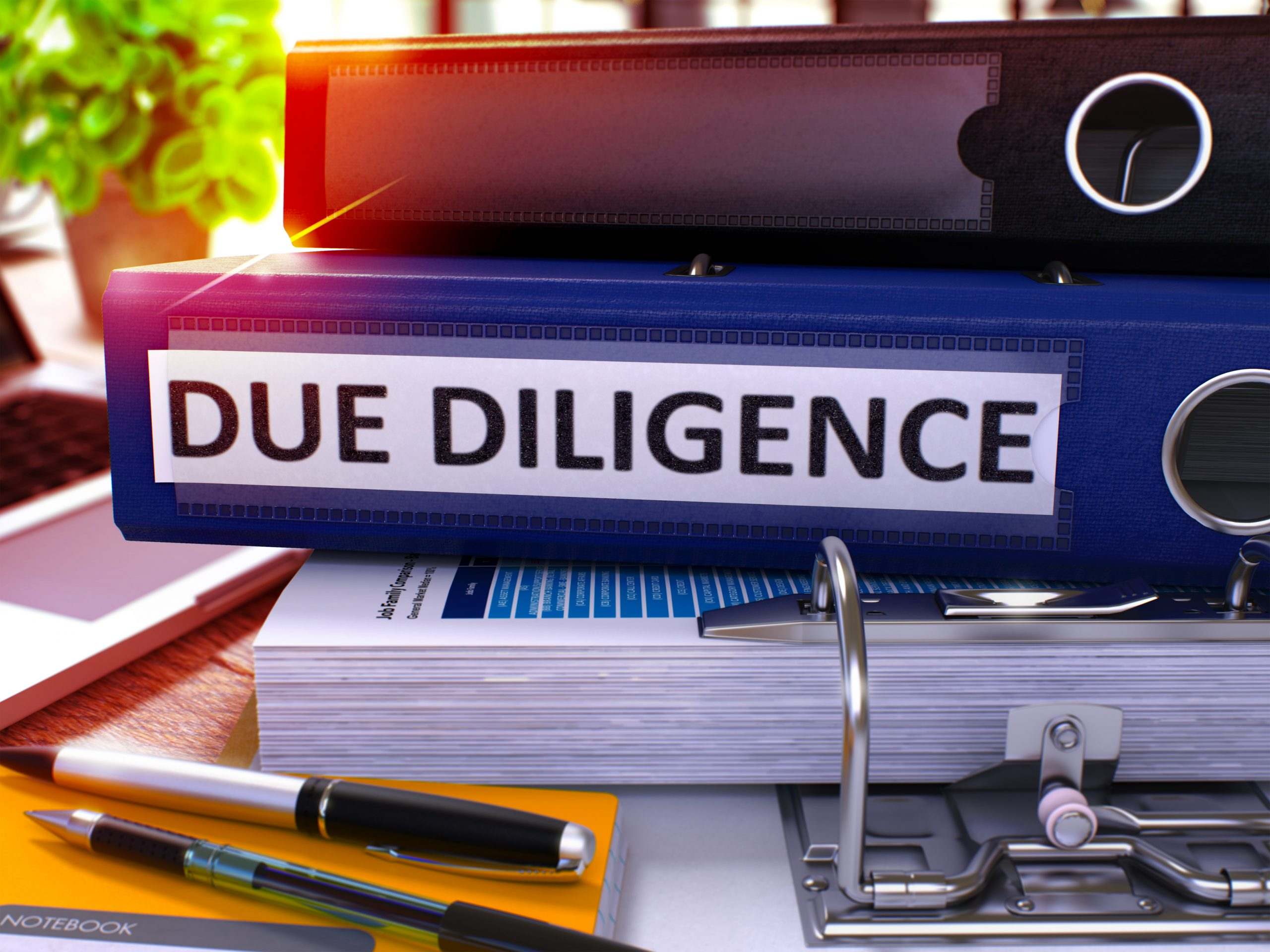 How good is your due diligence?