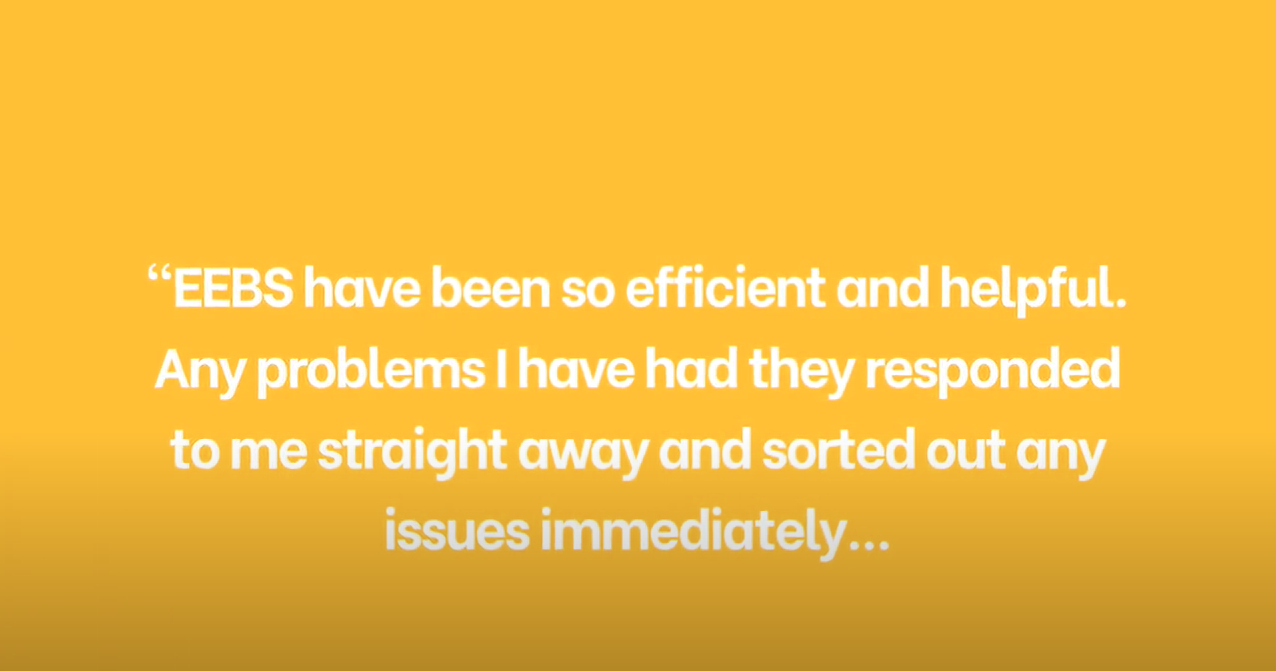 What do EEBS' clients say about the service you provide? (part 2)