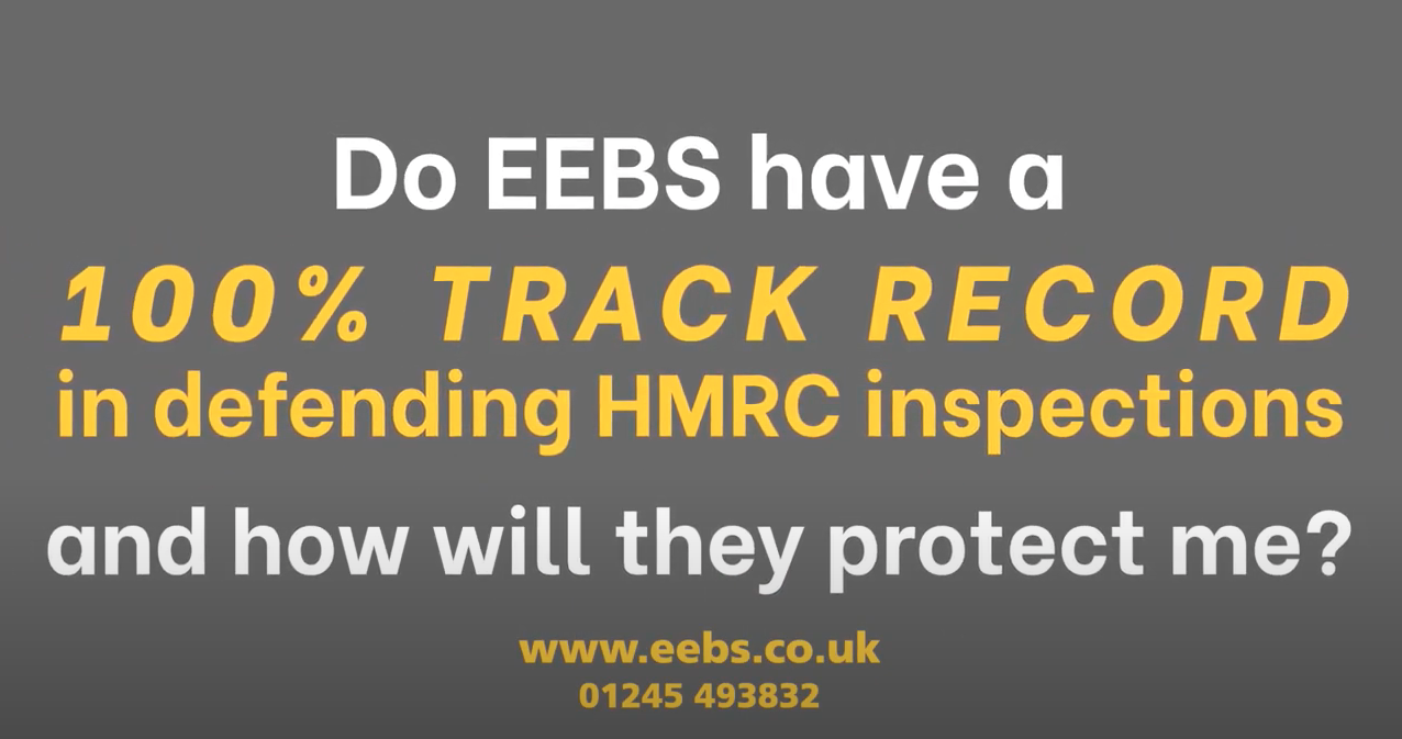 What's EEBS experience in HMRC Inspections & Employment Tribunals? Does EEBS provide a guarantee?