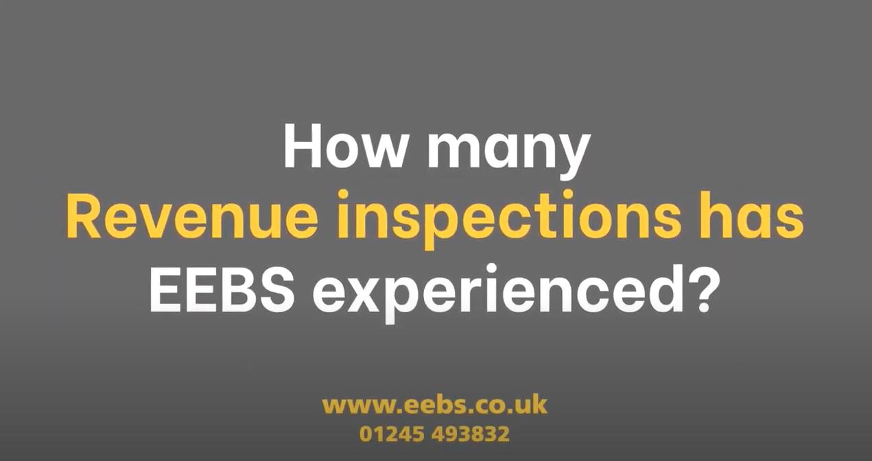 How many Revenue inspections has EEBS experienced?