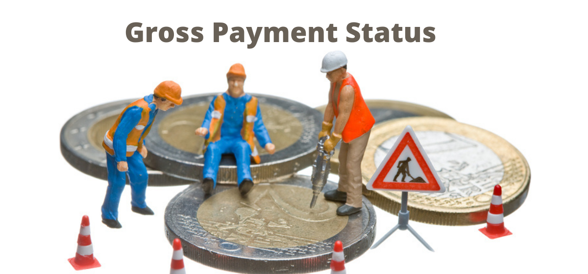 How do I get gross payment status back if I lose it?